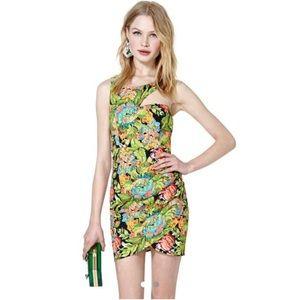 NWT Nasty Gal Reverse Modern Jane Floral Dress
